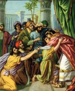 Joseph Makes Himself Known to His Brothers Genesis 45:1-15